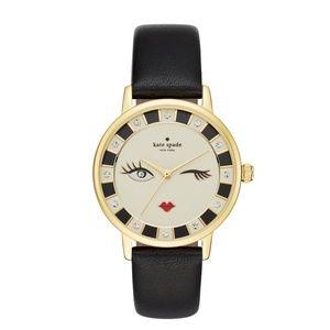 KATE SPADE Metro Wink Leather Watch